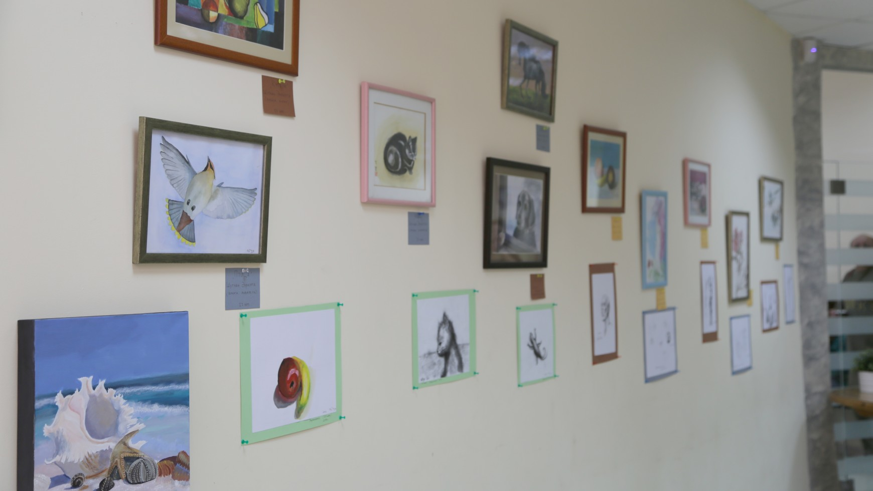 Art Exhibit at Beit Hallel Congregation for local Ashdod artists