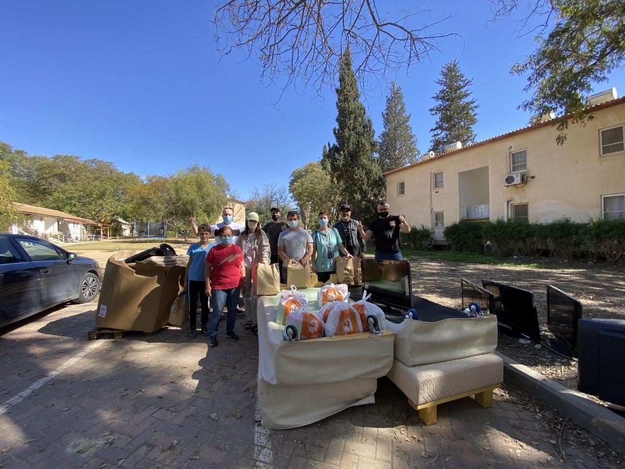 Outreach Project to Israeli Kibbutz Communities